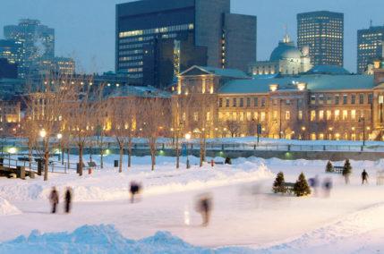 Bel hiver à Montréal