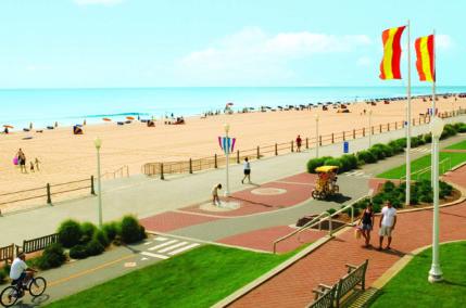 City & beach sur la côte Est