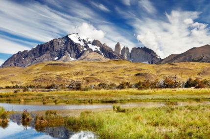 Pampas et glaciers patagons