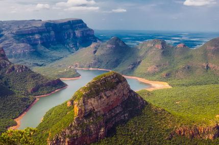 Panorama sud-africain